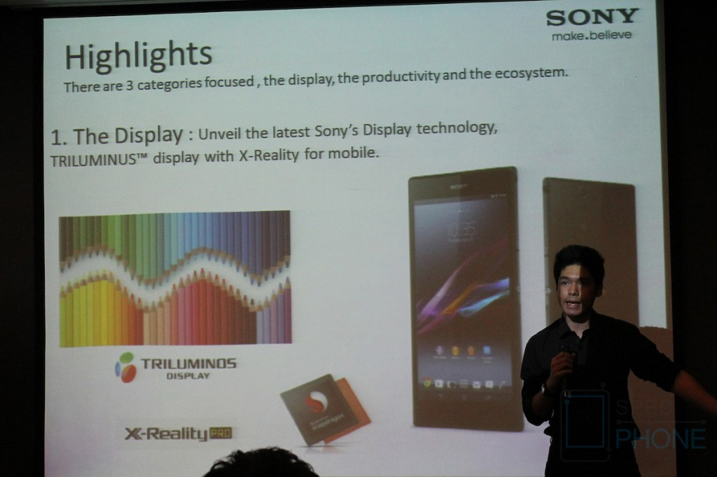 Sony Xperia Z Ultra Hands on Specphone 209