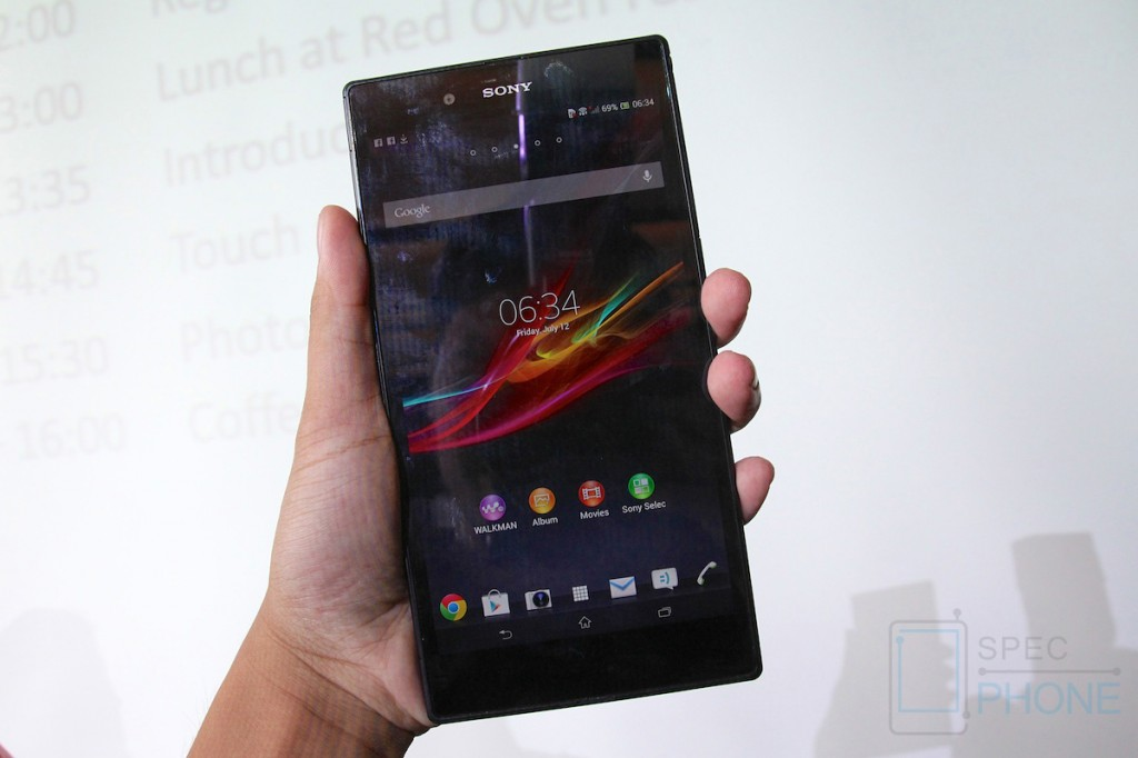 Sony Xperia Z Ultra Hands on Specphone 214
