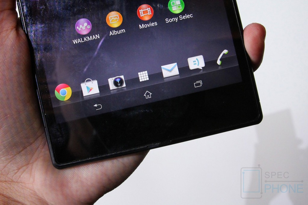 Sony Xperia Z Ultra Hands on Specphone 216