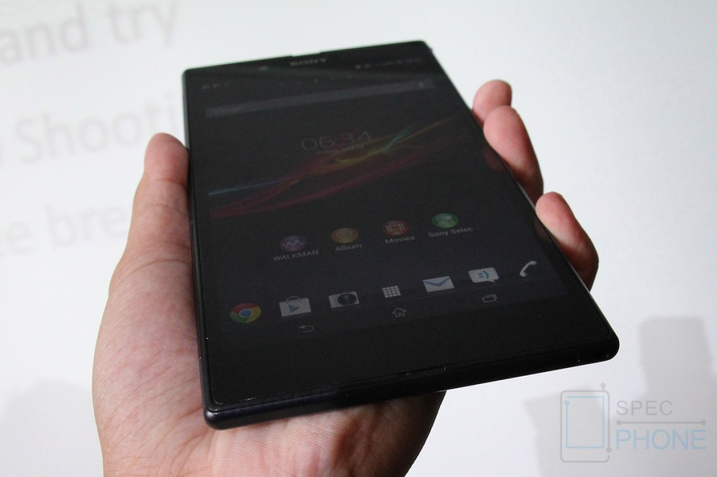 Sony Xperia Z Ultra Hands on Specphone 217