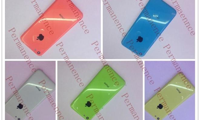 ภาพฝาหลัง iPhone ราคาประหยัดมาอีกแล้ว วัสดุเป็นพลาสติกหลากสีสันคล้ายลูกกวาด