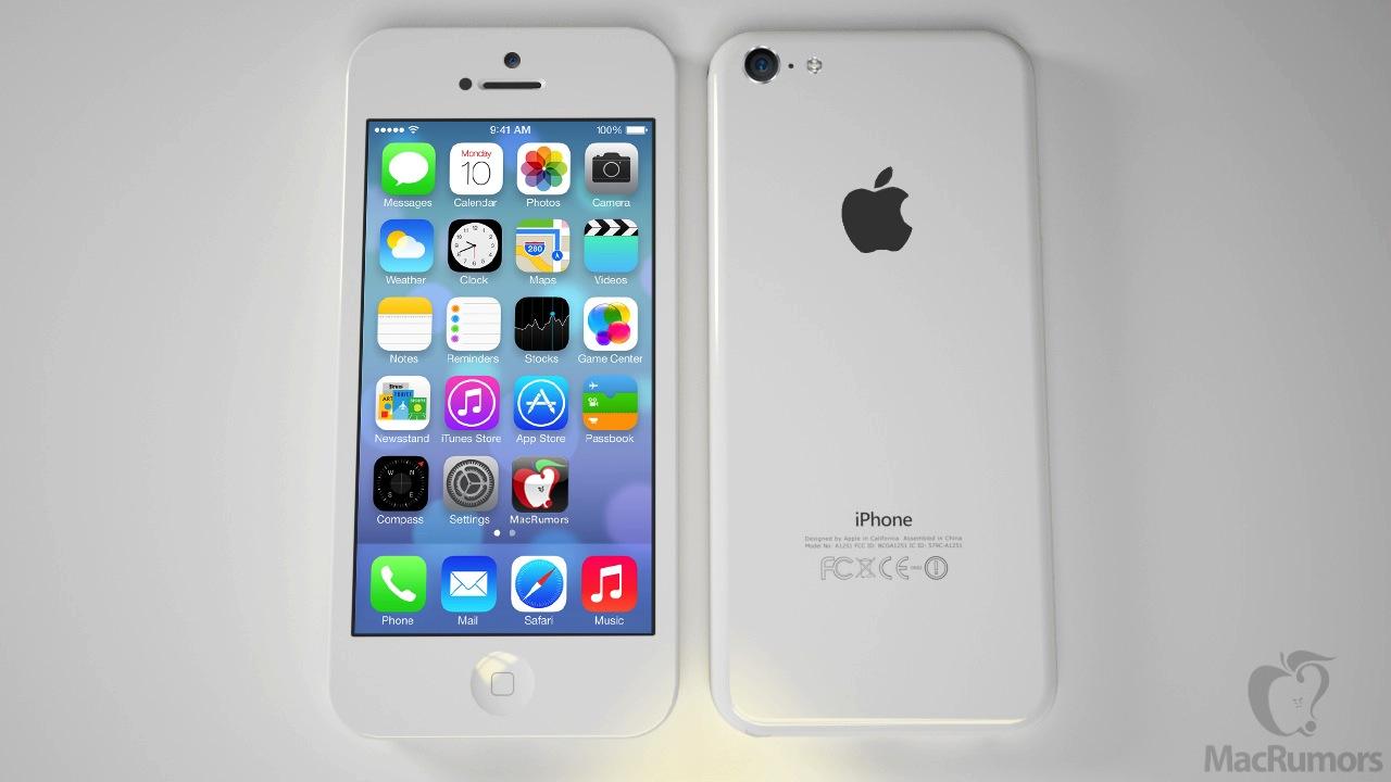 ตัวอย่างภาพ iPhone ราคาประหยัดที่มีคนเรนเดอร์ขึ้นมา จากข้อมูลและภาพหลุดก่อนหน้านี้