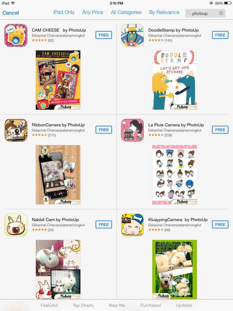 [App] PhotoUp : 11 แอพแต่งรูปน่ารักๆ โดยฝีมือคนไทย