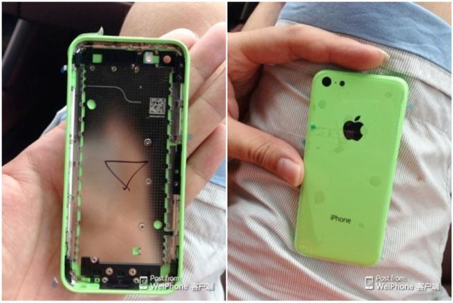 ภาพฝาหลัง iPhone ราคาประหยัดเริ่มหลุดมาอีกชุด คาดทำมาจากพลาสติก และจะมีให้เลือกหลายสี