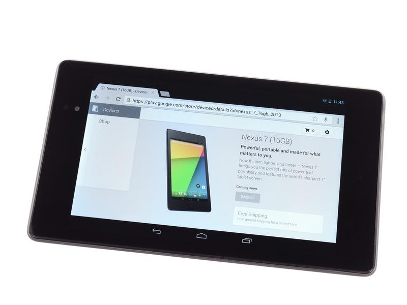 Nexus 7 รุ่น 2 ถูก ifixit แกะแล้ว ได้รับคะแนนความง่ายในการซ่อมอยู่ที่ 7 เต็ม 10