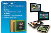 Intel เปิดตัว Bay Trail-T ชิปประมวลผลสำหรับสมาร์ทโฟนต่อจาก CloverTrail+ วันที่ 11 กันยายนนี้