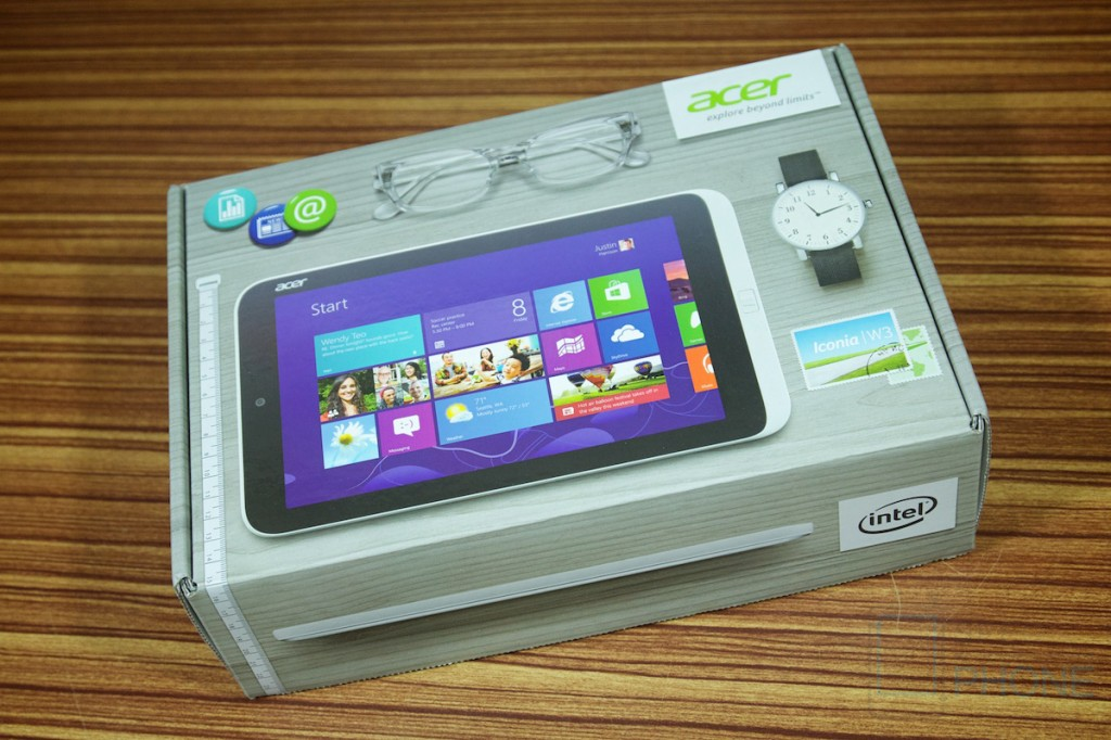 รีวิว Acer Iconia W3 แท็บเล็ต Windows 8 ตัวเต็มในขนาดพกพาสะดวก