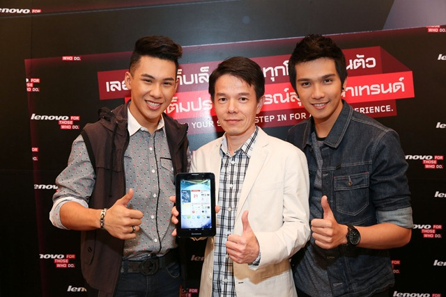 Celebrity guests at Lenovo Tablet Launch 2