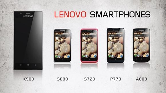 Lenovo Smartphones CES 2013