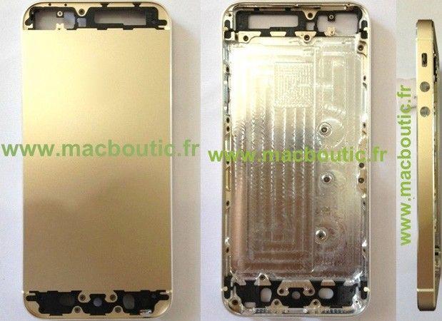ภาพฝาหลัง iPhone 5S สีทองมาแล้ว คาดอาจมีจริงตามข่าวลือ
