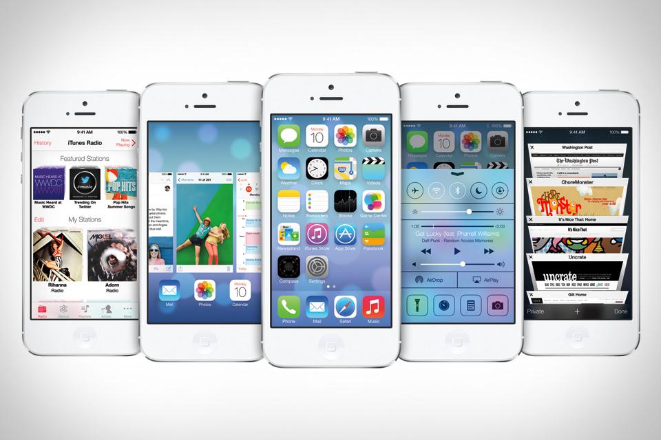 รวมข่าวล่าสุด ข้อมูล หน้าตา การอัพเดต iOS 7