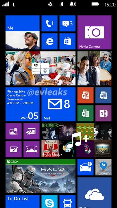 หลุดรูปแรก Nokia Lumia 1520 ขยาย Live Tiles เพิ่มได้สูงสุดเป็น 6 แถวแล้ว
