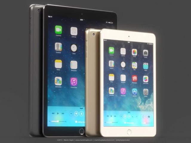 ภาพเรนเดอร์ iPad 5 และ iPad mini 2 แบบมีเซ็นเซอร์ Touch ID ออกมาแล้ว ก่อนเปิดตัวจริงเร็วๆ นี้