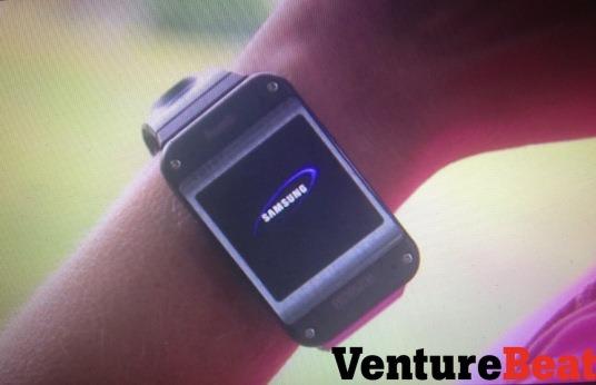 เผยรูปเครื่องจริง Galaxy Gear มาพร้อมกับวัดการออกกำลังกายและมีกล้องที่สายรัด