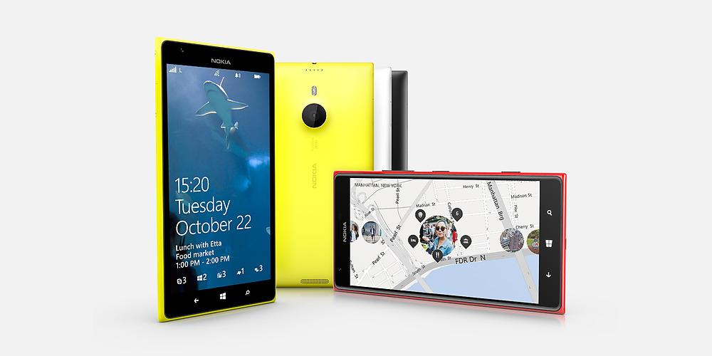 Nokia เปิดตัว Lumia 1520, Lumia 1320 และแท็บเล็ต Lumia 2520