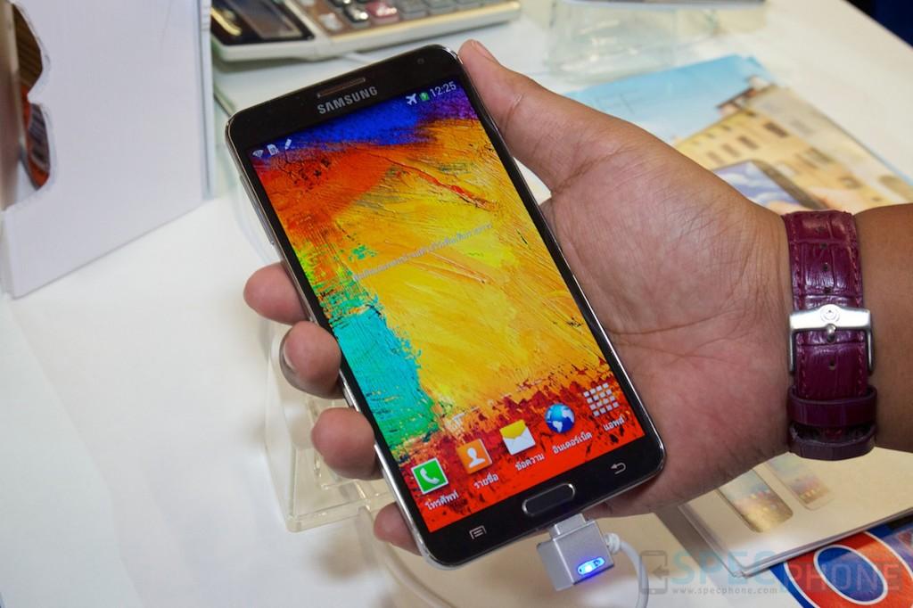 Hands-on: Samsung Galaxy Note 3+Gear, Xperia Z1 และ Lumia 1020 จากงาน TME 2013
