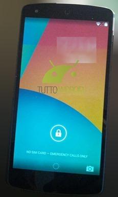ภาพสกรีนช็อต Android 4.4 ล่าสุด พบแถบ Notification แบบใส ไอคอนถูกรีดีไซน์ใหม่