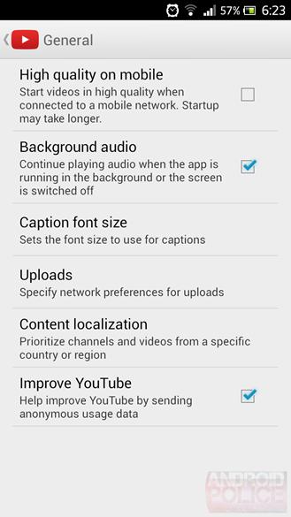 Youtube เวอร์ชันถัดไปจะรองรับ Background Audio และการเล่นวีดีโอโดยไม่ต้องเชื่อมอินเตอร์เน็ต