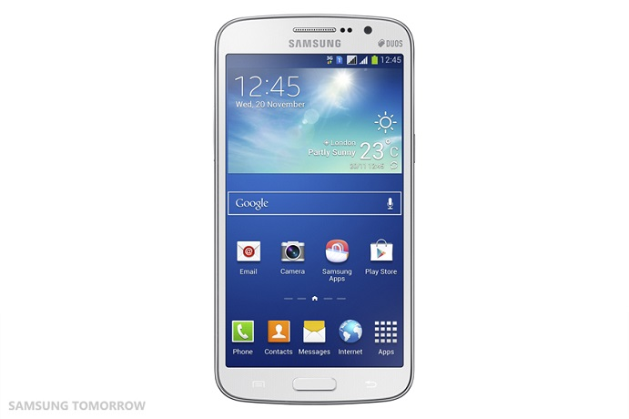 Samsung เปิดตัว Galaxy Grand 2 เน้นอัพสเปค ชิปควอดคอร์จอใหญ่ ฝาหลังแบบ Note 3