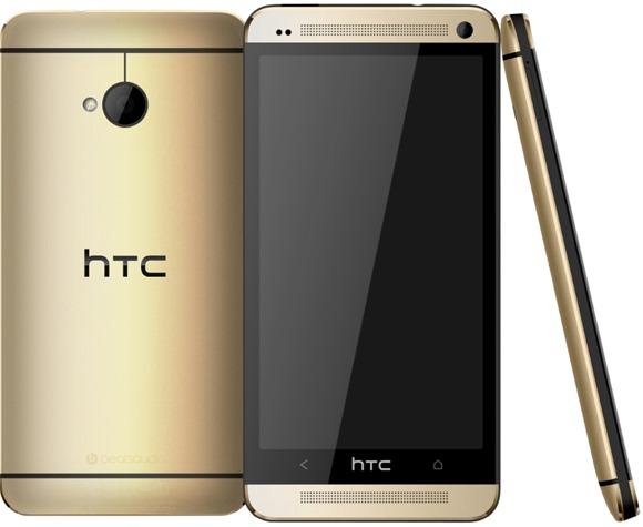 HTC One ออกรุ่นสีทองแล้ว มาในราคาตามปกติ