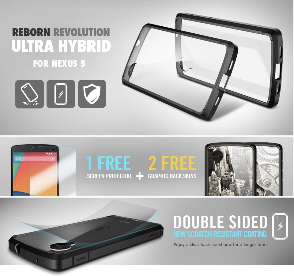 รีวิวเคส Nexus 5 รุ่น Ultra Hybrid จาก SPIGEN SGP ที่มาพร้อมฟีเจอร์สำหรับปกป้องเครื่องของคุณ