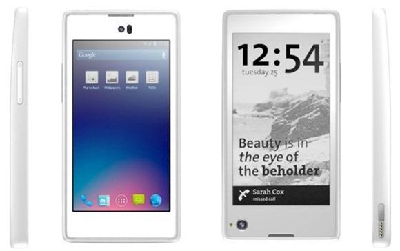 YotaPhone สมาร์ทโฟนสองหน้าจอจากรัสเซียพร้อมกับ e-Ink สำหรับดูการแจ้งเตือน
