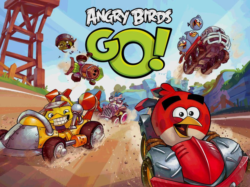 เกมแข่งรถ Angry Birds Go เปิดให้ชาว iOS ดาวน์โหลดมาเล่นได้แล้ว แบบฟรีๆ !!