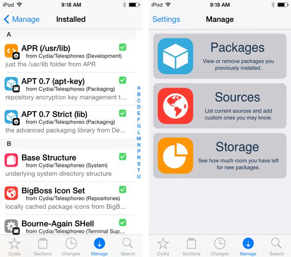 Cydia เวอร์ชันใหม่ล่าสุดสำหรับคนที่ Jailbreak iOS 7 มาแล้ว กดอัพเดตจากในเครื่องได้ทันที