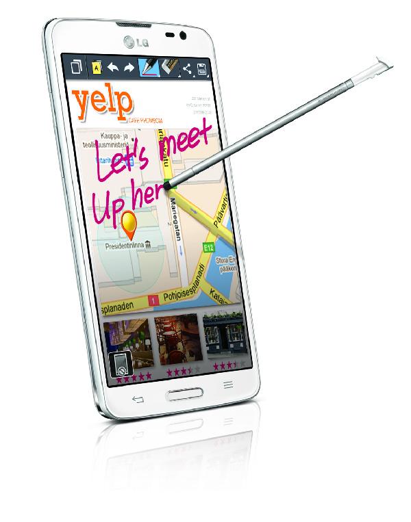 LG G Pro Lite สัมผัสเต็มตาด้วยหน้าจอใหญ่ ตอบโจทย์ไลฟ์สไตล์ทุกฟังก์ชั่นอย่างลงตัว