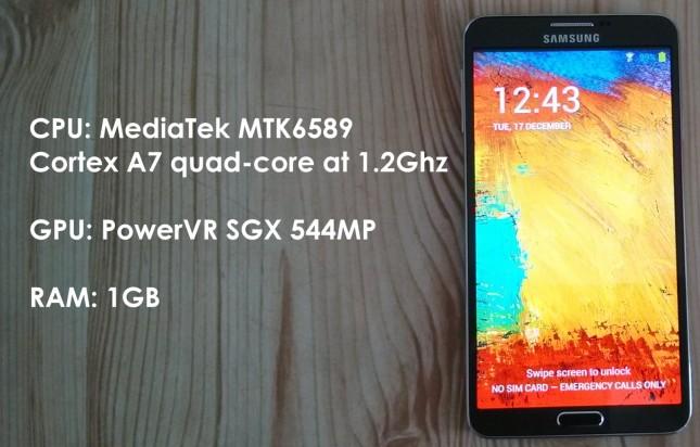 Goophone N3 สุดยอด Galaxy Note 3 ร่างเทียมในราคาเริ่มต้นแค่ 6,000 กว่าบาท