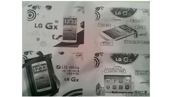 หลุดเครื่องรุ่นใหม่จาก LG GX กับรายละเอียดที่ยังเป็นปริศนา (อัพเดตล่าสุด เปิดตัวเป็นทางการแล้ว)