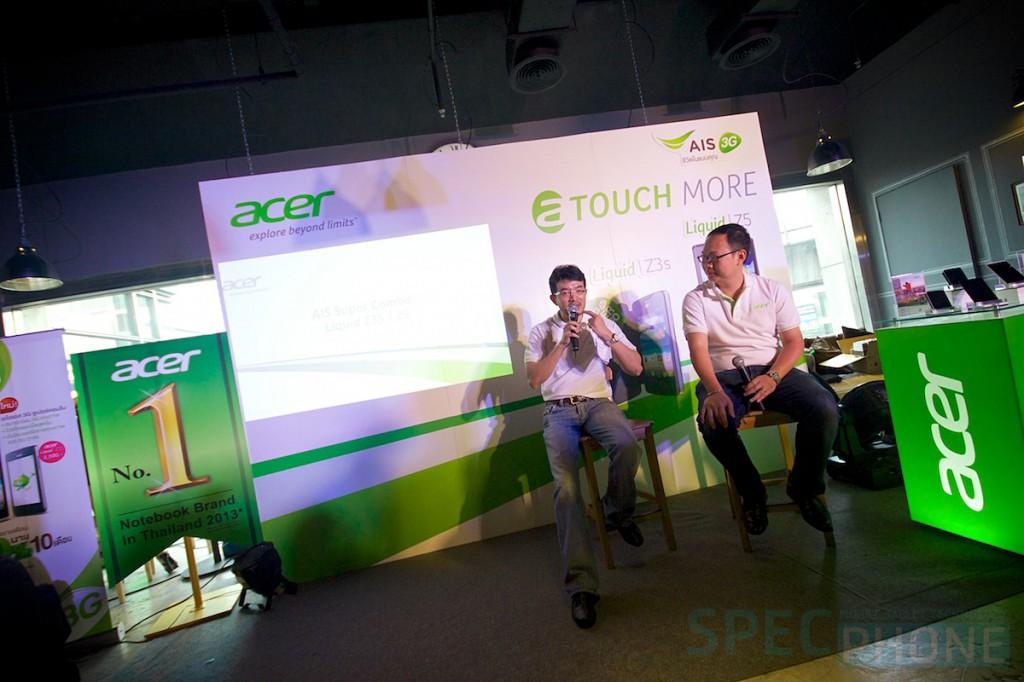 Hands-on: ลองเล่น Acer Liquid Z3s และ Acer Liquid Z5 สองสมาร์ทโฟนราคาสุดคุ้มรับปีม้า