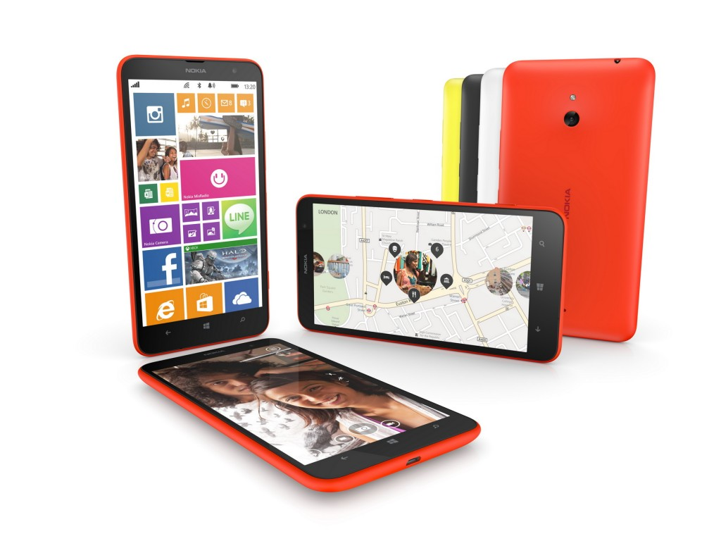 โนเกียส่ง Nokia Lumia 1320 ลุยตลาดสมาร์ทแฟบเล็ต โดดเด่นด้วยจอใหญ่ 6 นิ้ว
