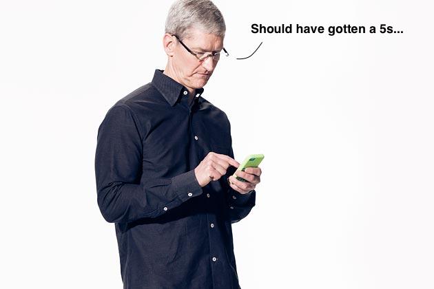 Tim Cook ยอมรับ iPhone 5c ขายไม่ได้ตามเป้าและไม่ได้รับความนิยมจริงๆ