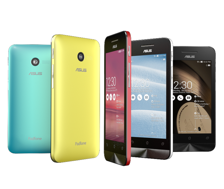 [CES 2014] ASUS เปิดตัวมือถือทั้งตระกูล ZenFone, PadFone X, PadFone Mini และโน้ตบุ๊ก Windows-Android