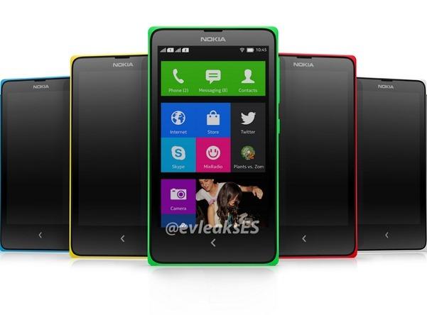 Nokia Normandy จะวางจำหน่ายในชื่อ Nokia X เปิดตัววันที่ 25 มีนาคมนี้