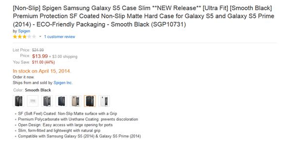 Samsung Galaxy S5 จะมีทั้งหมดสองเวอร์ชันแบบปกติและแบบ Prime