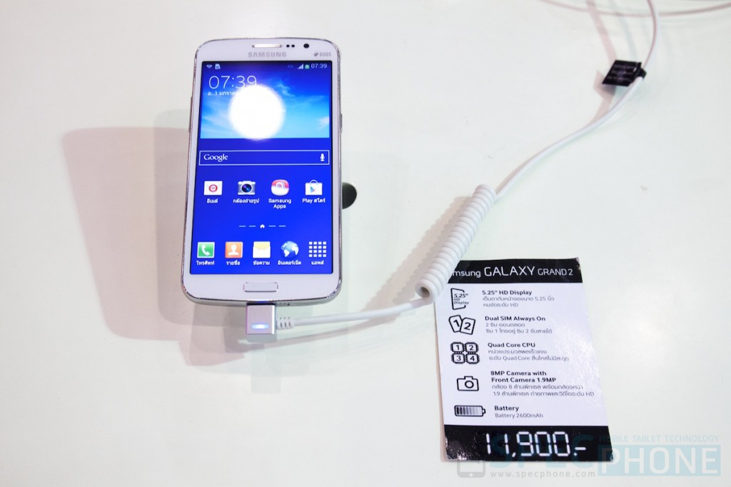 Hands-on ลองจับ Samsung Galaxy Grand 2 และ Galaxy Camera 2 จากงาน TME 2014