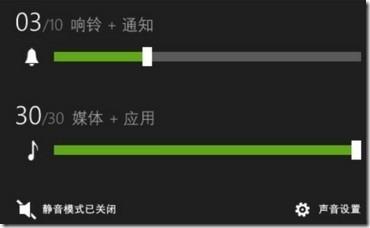 หลุด! Windows Phone 8.1 กับหน้าปรับ Volume