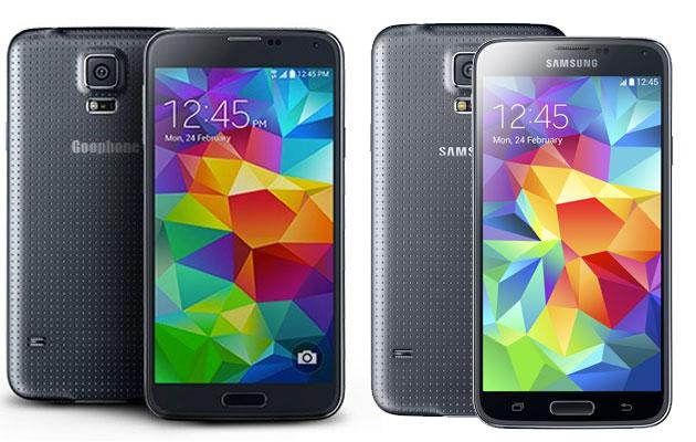 Goophone S5 มือถือก็อป Samsung Galaxy S5 มาแล้ว หลังตัวจริงเปิดตัวมาแค่ 2 วัน !!