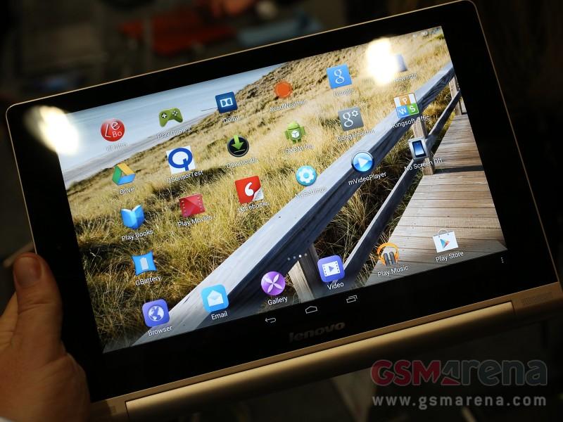 [MWC 2014] Lenovo เปิดตัว Yoga Tablet 10 HD+ อัพหน้าจอเป็น 1920×1200 ชิป Snapdragon 400 แรม 2 GB
