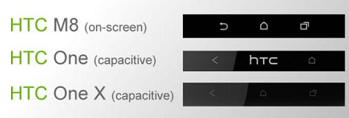 ภาพแรกปุ่มสัมผัสบนหน้าจอของ HTC One 2 กลับมาใช้เลย์เอาท์เดียวกับ One X