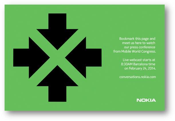 Nokia ส่งหมายเชิญเปิดตัววันที่ 24 กุมภาพันธ์นี้ พร้อมสัญลักษณ์ X