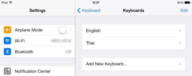 Keyboard iPad 2