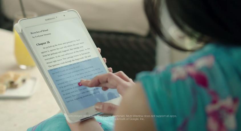 โฆษณา Samsung เอาอีกแล้ว แซวไปทั่วตามเคย กราดไปทั้ง iPad, Surface และ Kindle