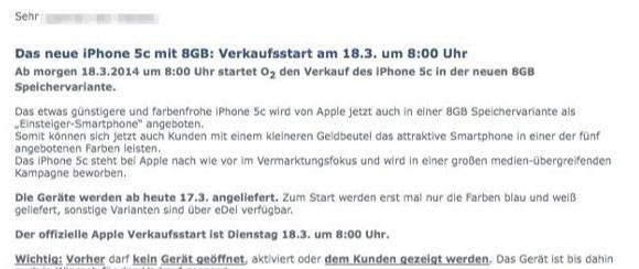 iP 5c 8G