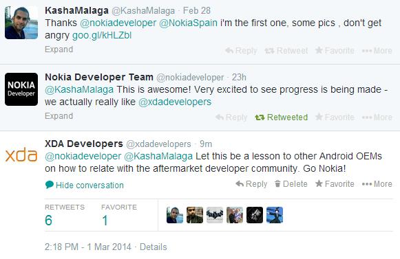 ทีมนักพัฒนา Nokia ขอบคุณชุมชน XDA ที่ทำให้ Nokia X สามารถใช้งาน Google Apps ได้