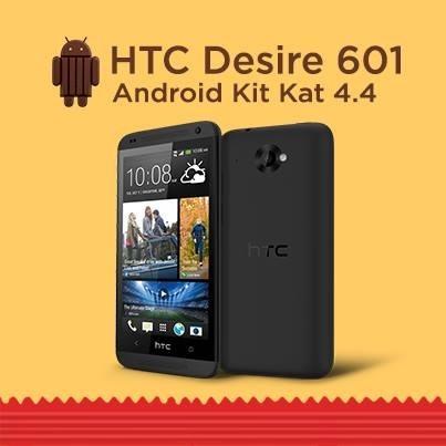 HTC ปล่อยอัพเดท Android 4.4 พร้อม Sense 5.5 ให้ Desire 601 เงียบๆ