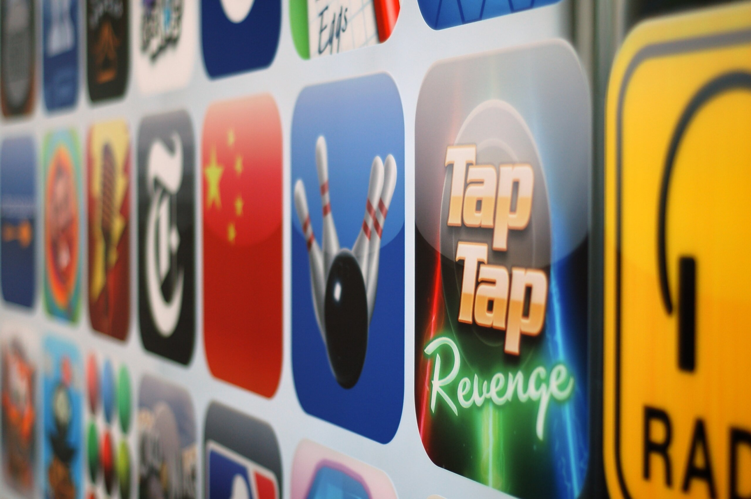 Apple App Store apps scaled