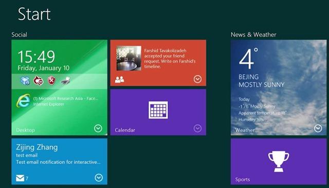 Microsoft กำลังพัฒนา Live Tile แบบใหม่ให้สามารถใช้งานได้เหมือน widget